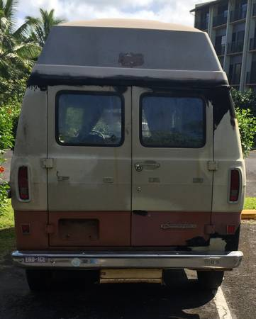 1972 Ford Econoline Camper For Sale in Lihue, Hawaii