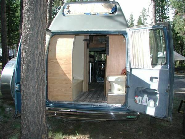 1989 Ford Econoline Camper For Sale In Tucson Arizona