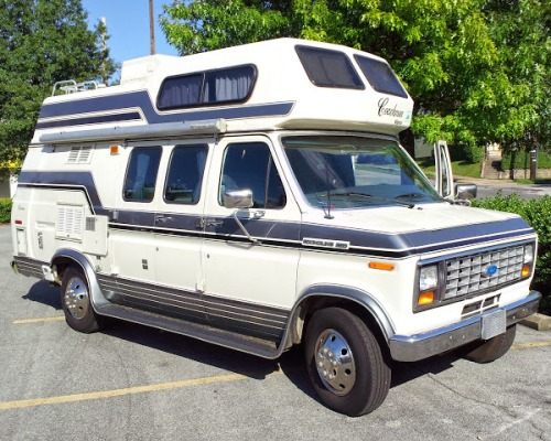 1998 Ford Coachmen Starflyte Class B Camper For Sale in ...