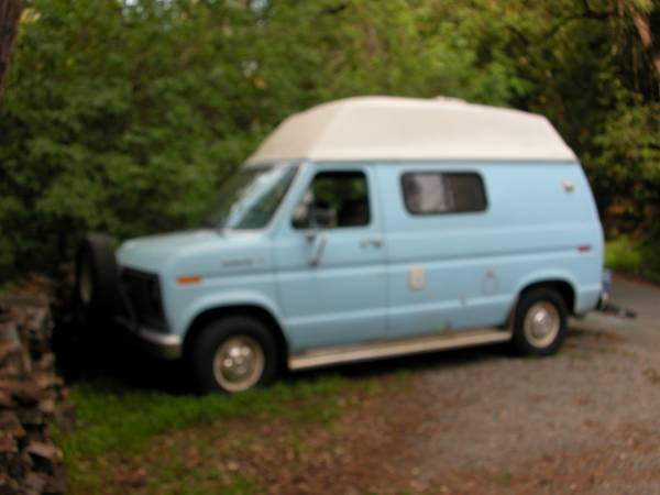 1985 Ford Camper Van For Sale - Class B RV Classifieds