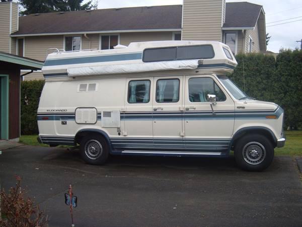 El Dorado Ford Camper Van For Sale - Class B RV Classifieds