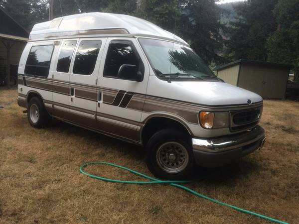 1997 ford e150 camper for sale in dorena oregon. Black Bedroom Furniture Sets. Home Design Ideas
