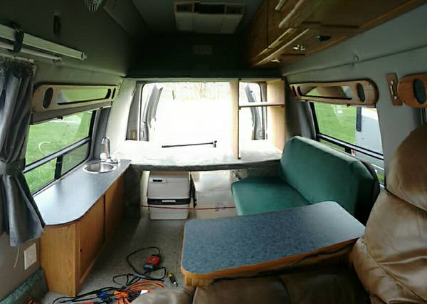 2001 Ford E250 Camper For Sale In Ellicott City Maryland