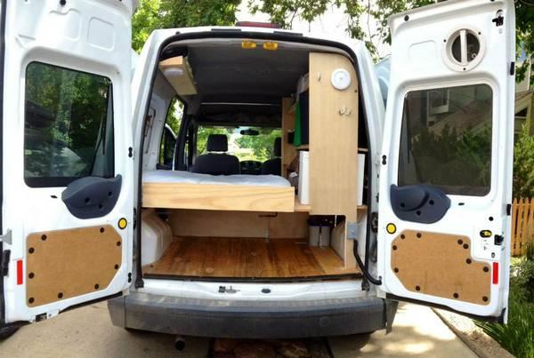2010 Ford Transit Connect Camper For Sale In Boulder Colorado