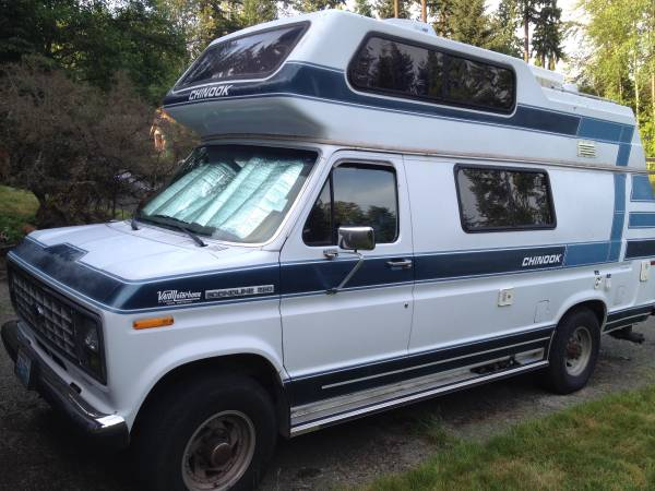 Chinook Ford Camper Van For Sale - Class B RV Classifieds