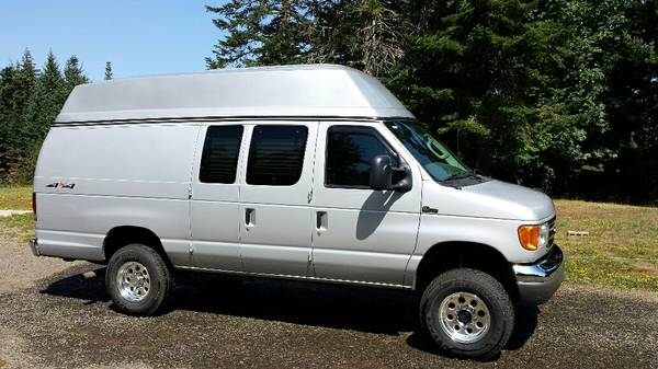 2003 Ford E350 Conversion Cargo Camper Van For Sale in ...