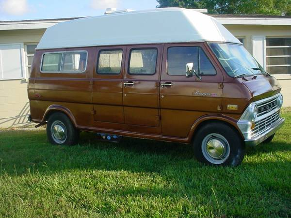 1972 Ford Camper Van For Sale Class B Rv Classifieds