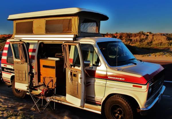 1990 Ford Sportsmobile Camper For Sale in Encinitas, California