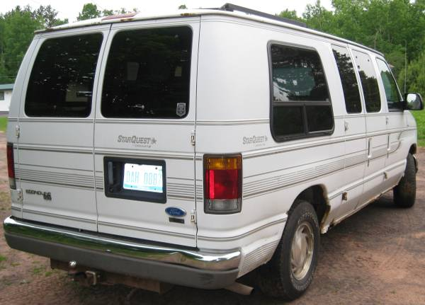 1995 Ford Starquest E150 Camper For Sale In Houghton Michigan
