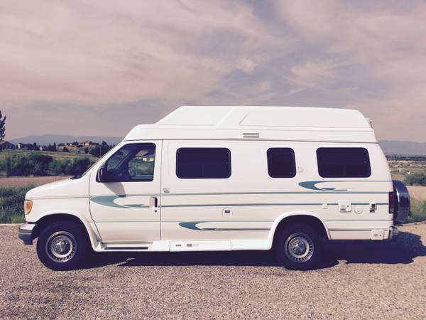 1995 Ford Aerostar Camper For Sale in Hayward, California
