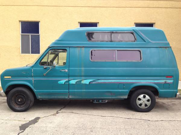 1983 Ford Camper Van For Sale - Class B RV Classifieds