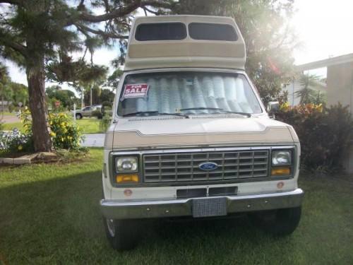 1989 Ford E350 Camper For Sale in Venice, Florida