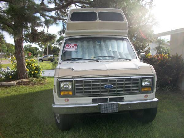 1989 Ford Chinook E350 Camper Van For Sale in Santa ...