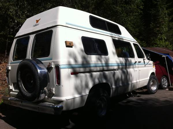 1988 Ford E150 Camper For Sale In Santa Cruz California