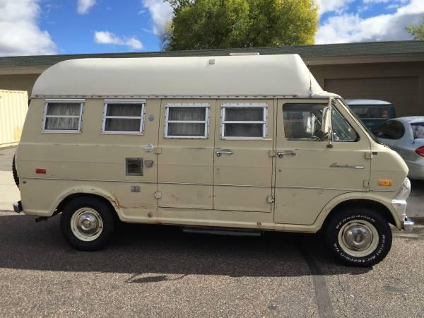 E200 Ford Camper Van For Sale Class B Rv Classifieds