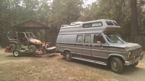 1987 Ford E350 Camper For Sale in Grass Valley, California