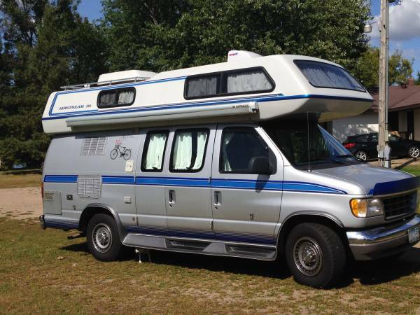 airstream ford camper van for sale class b rv classifieds. Black Bedroom Furniture Sets. Home Design Ideas