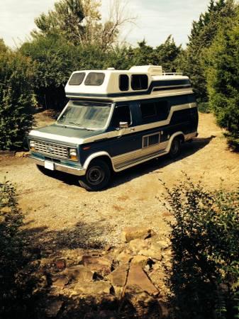 1989 Ford Coachmen Camper For Sale in Tulsa, Oklahoma