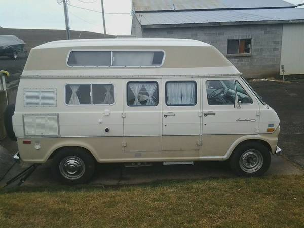 1972 Ford Camper Van For Sale - Class B RV Classifieds