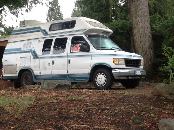 1994 Ford Camper Van For Sale - Class B RV Classifieds