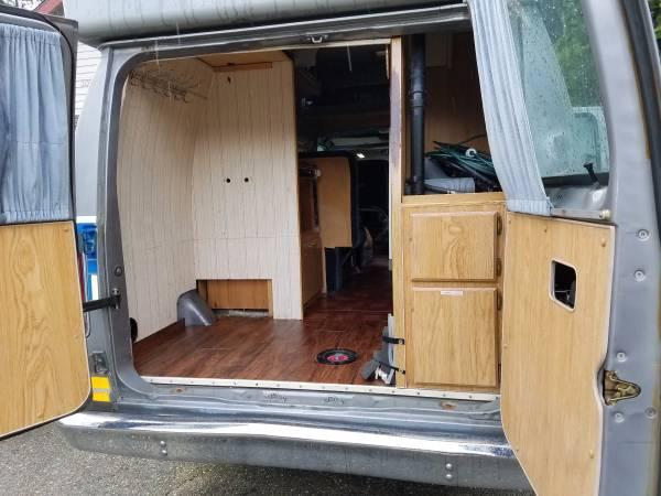 1989 Ford E350 Camper For Sale In Bothell Washington