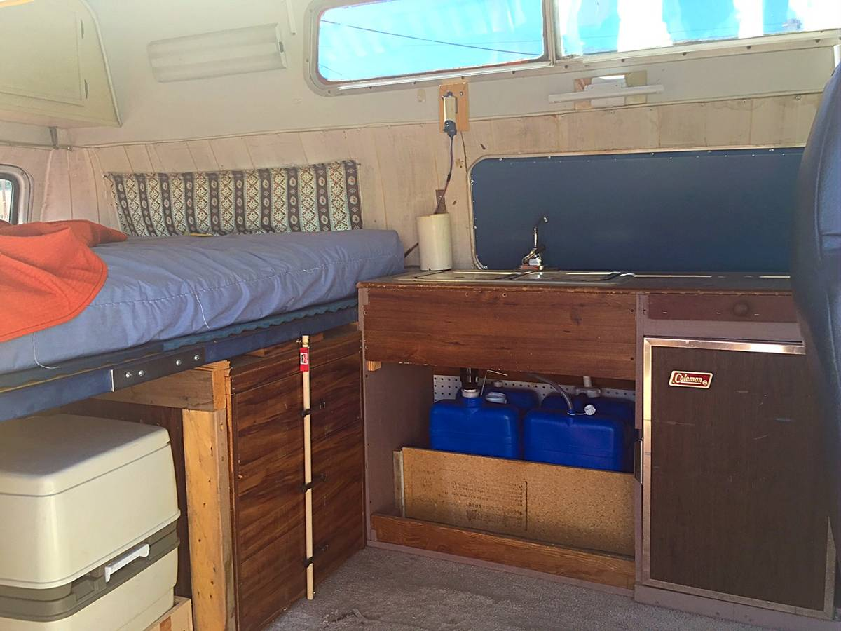 1973 Ford Econoline Camper For Sale In Boise Idaho