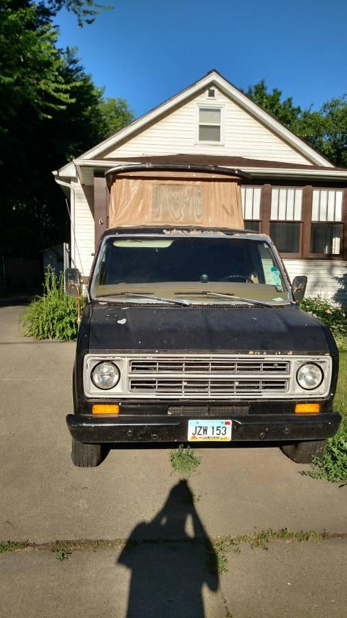 1977 Ford E150 Camper For Sale In Fargo North Dakota