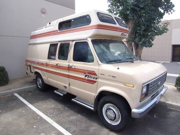falcon ford camper van for sale class b rv classifieds. Black Bedroom Furniture Sets. Home Design Ideas