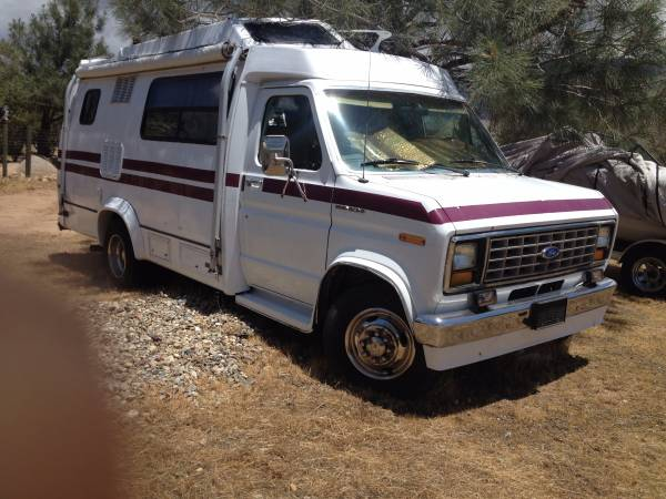1988 ford camper van for sale class b rv classifieds. Black Bedroom Furniture Sets. Home Design Ideas