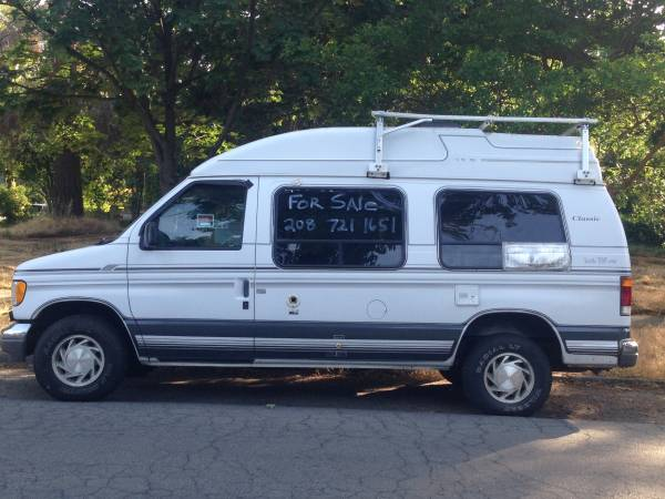 1994 Ford E150 Camper For Sale In Chico California