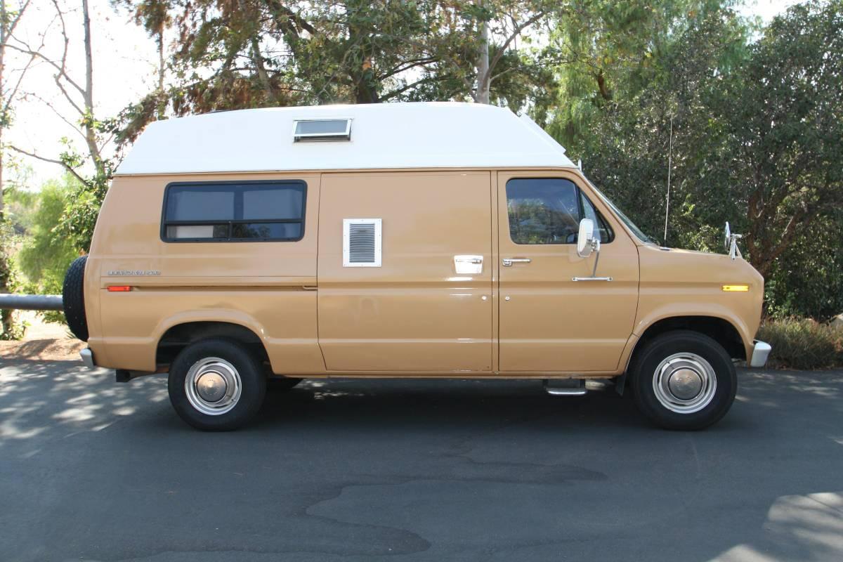 1975 Ford Conversion E250 Camper For Sale In Corona