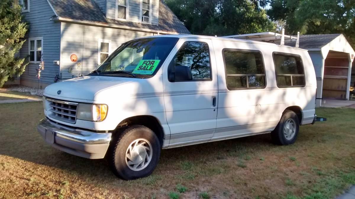 1996 ford e150 conversion van value