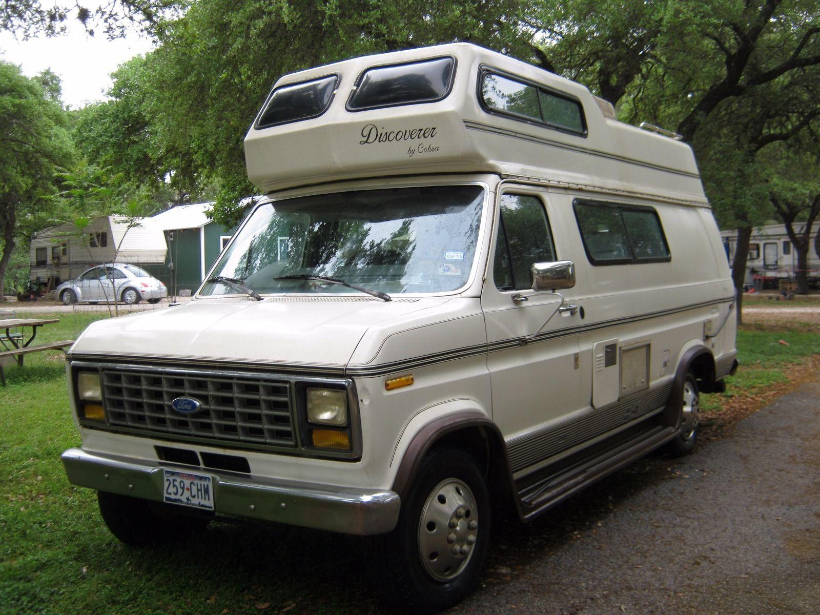 1991 ford e250 discoverer by cobra 19ft camper for sale. Black Bedroom Furniture Sets. Home Design Ideas