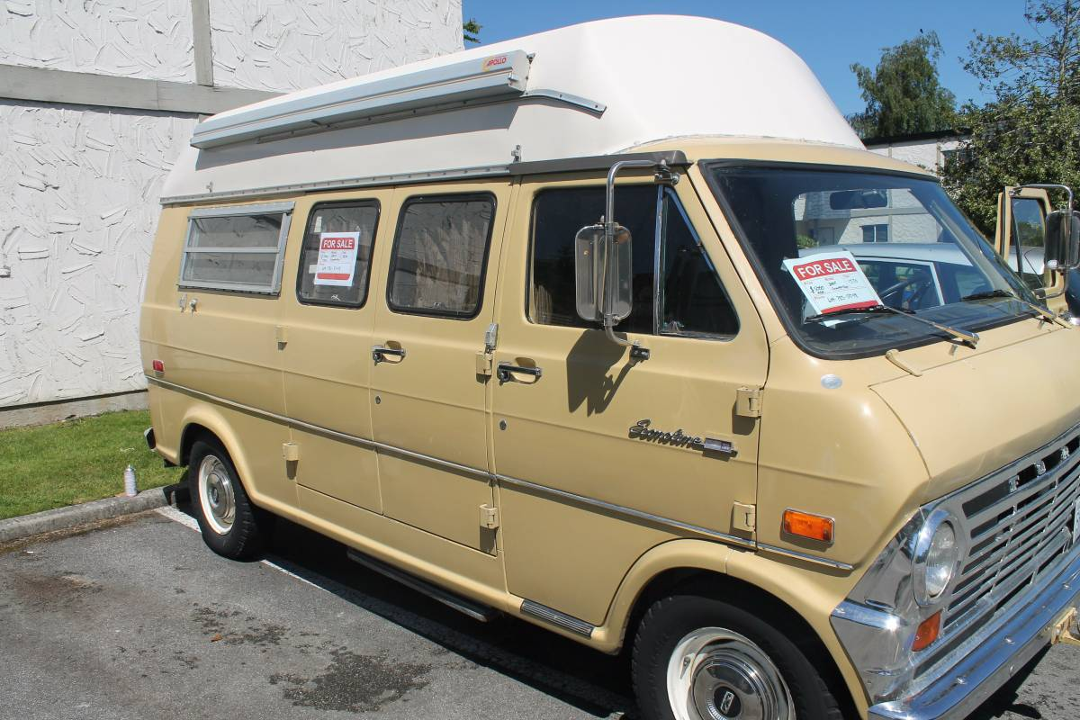 1970 Ford 200 Econoline Camper Van For Sale In Richmond