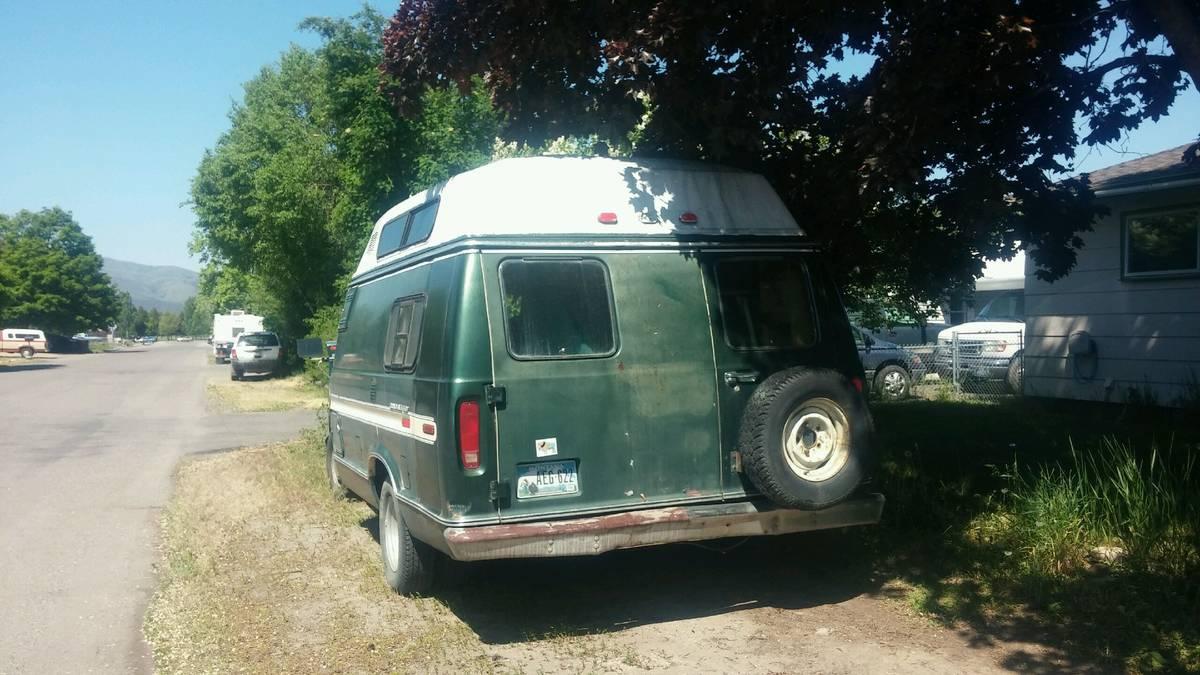 Craigslist Missoula Mt >> 1979 Ford Wide Body Camper Van For Sale in Missoula, MT ...