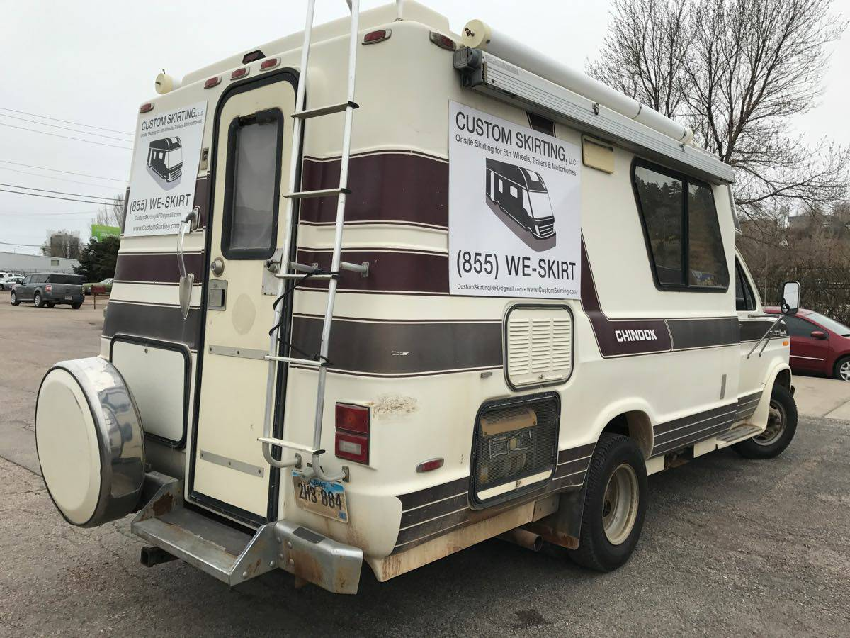 1989 Ford Chinook E350 460 Big Block Camper For Sale in ...