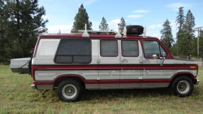 1990 Ford E150 Camper Van Conversion For Sale North of ...