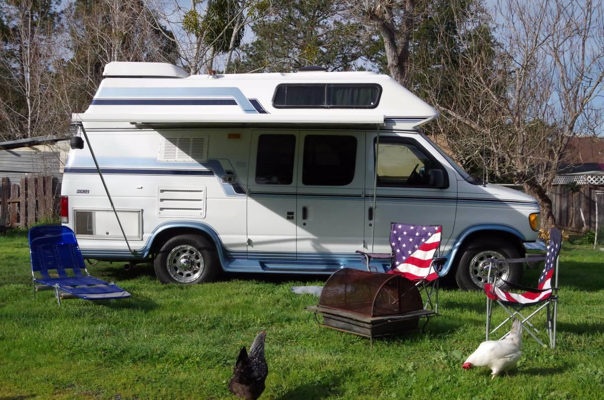1995 Ford Coachmen E250 Van Camper For Sale in Santa Rosa, CA