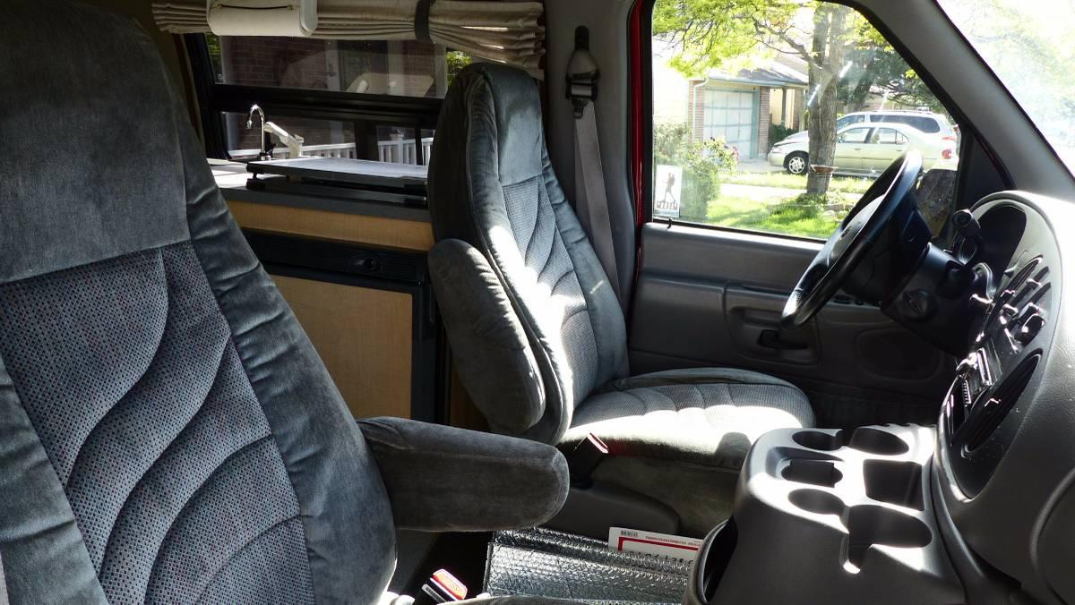 2002 Ford Pleasure Way Traverse Camper Van For Sale In