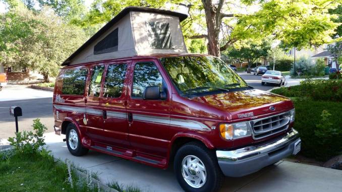 2002 ford pleasure way traverse camper van for sale in broomfield co. Black Bedroom Furniture Sets. Home Design Ideas
