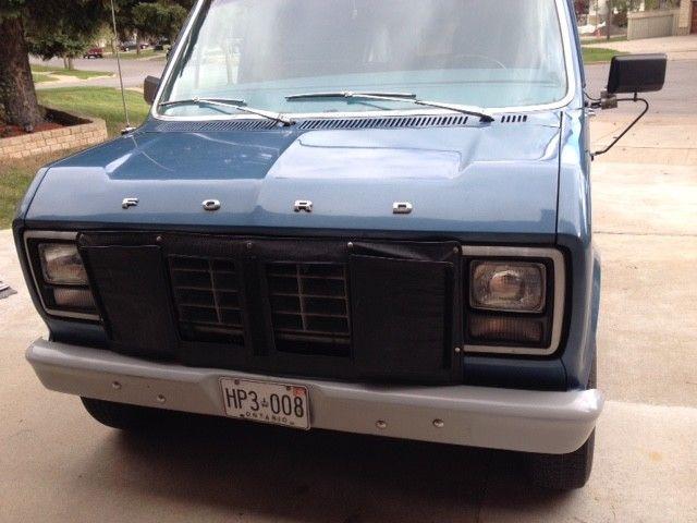 1980 Ford Econoline Supervan 150 Camper For Sale In