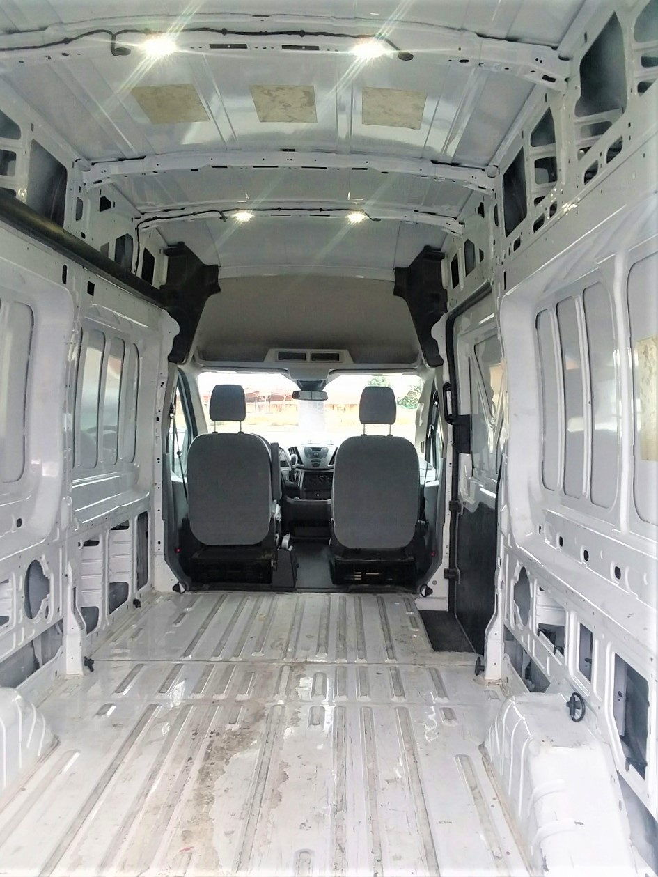 Ford Transit 250 >> 2017 Ford Transit-250 High Top EXT Cargo Van For Sale in ...