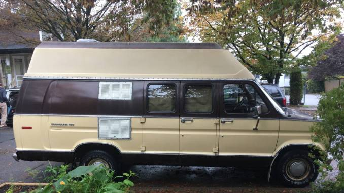 1980 Ford Econoline High Top Camper Van For Sale In