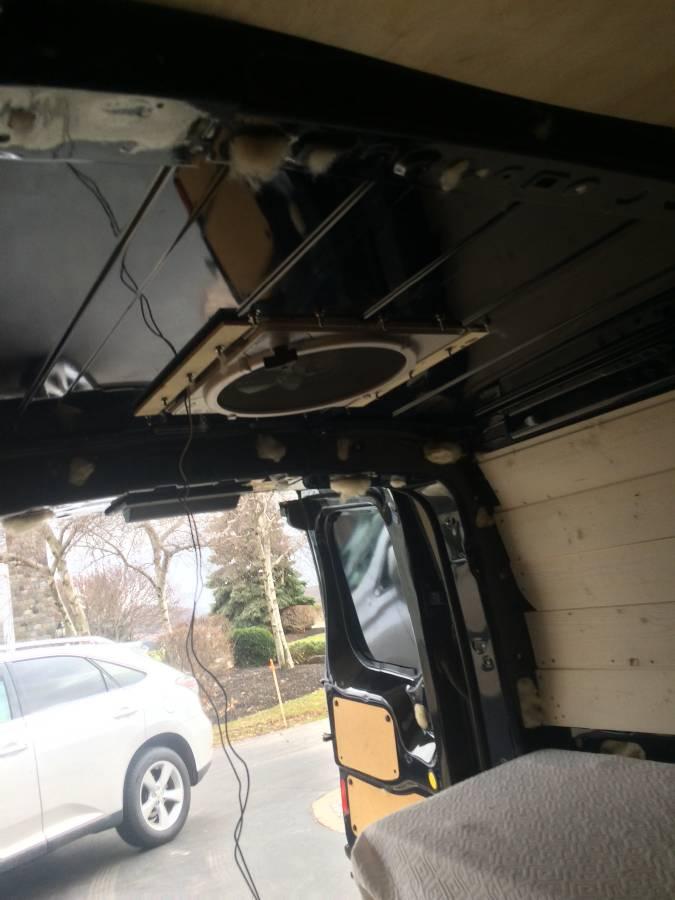 2016 Transit Connect Xlt Partial Conversion Camper For