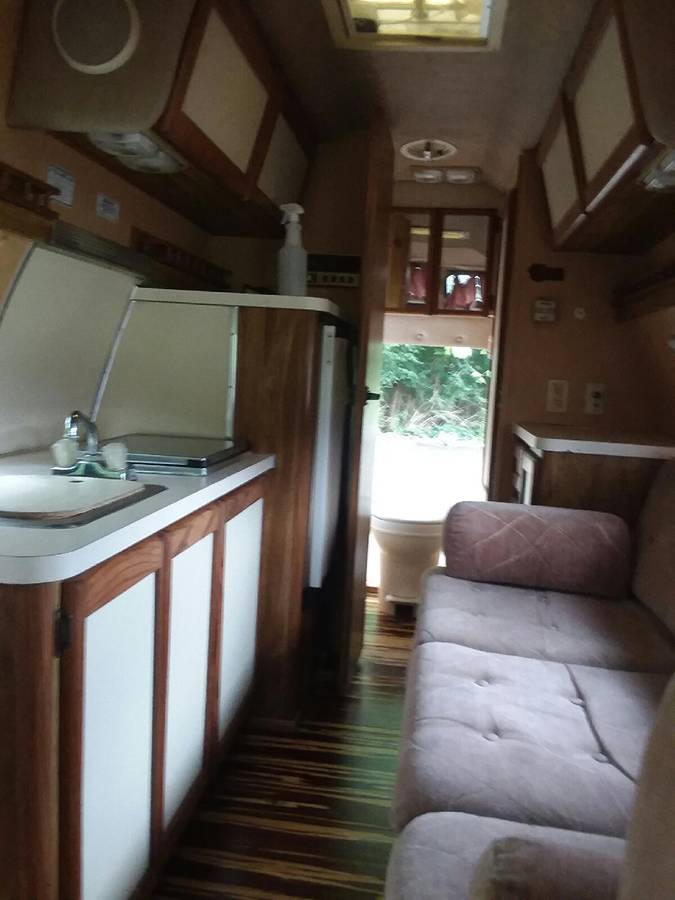 1986 Ford Econoline Turtle Top Camper For Sale in Columbus ...