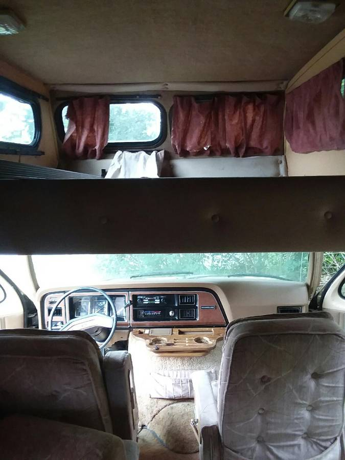 1986 Ford Econoline Turtle Top Camper For Sale In Columbus