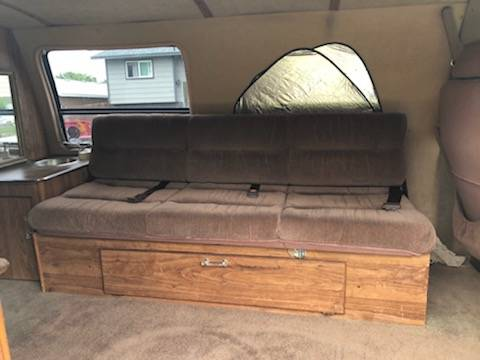 1986 Ford E350 Camper For Sale in Kennewick, Washington