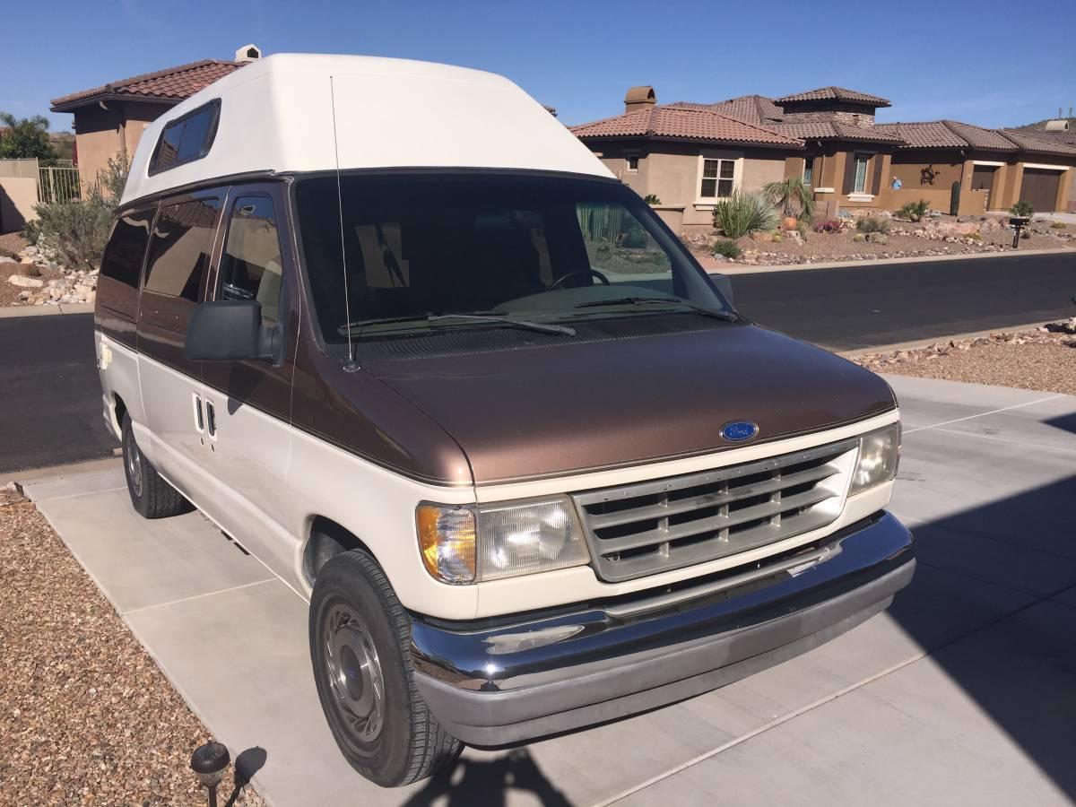 1993 Ford E150 Camper For Sale in Tucson, Arizona