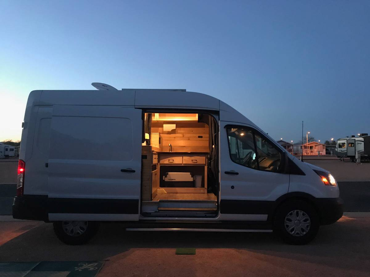2018 Ford Transit Conversion Camper For Sale in Phoenix ...