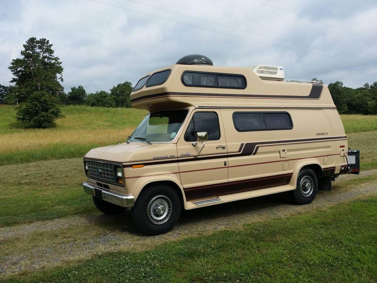 1990 Ford Econoline 250 Camper For Sale in Hot Springs ...